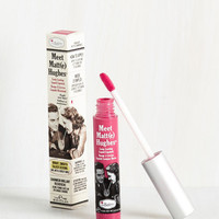 In No Time Matte Liquid Lipstick in Pink by theBalm from ModCloth