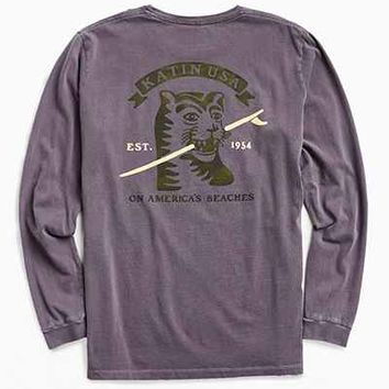 Katin Toothpick Long Sleeve Tee - Urban Outfitters