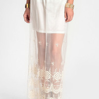 Forest Sprite Crochet Maxi Skirt - $48.00: ThreadSence, Women's Indie & Bohemian Clothing, Dresses, & Accessories
