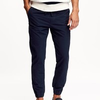 Old Navy Mens Twill Joggers