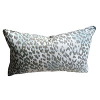 Pre-owned Muted Animal Print Accent Pillows - a Pair