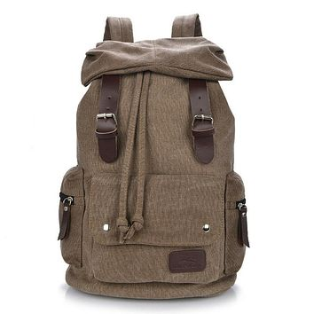 Boys Girls Bags Classic Fashion Students Backpack Canvas Shoulders Bags