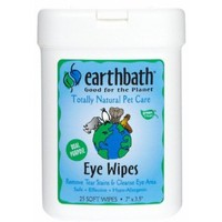 Earthbath Eye Wipes for Pets   Cat Health Aids