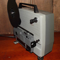 Anscovision 388 Dual Super 8 and 8mm Projector