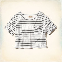 Must-Have Crop Boxy T-Shirt