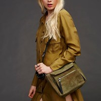 Free People Cadet Suede Crossbody