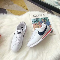 """""""Nike Cortez"""" Unisex Casual Fashion Multicolor Leather Running Shoes Couple Retro Sneakers"""
