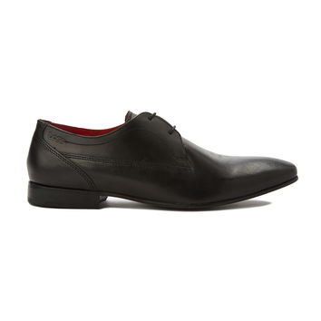 Base London Button Derby Shoes