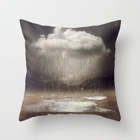 It's Okay. Even the Sky Cries Sometimes. Throw Pillow by Soaring Anchor Designs | Society6