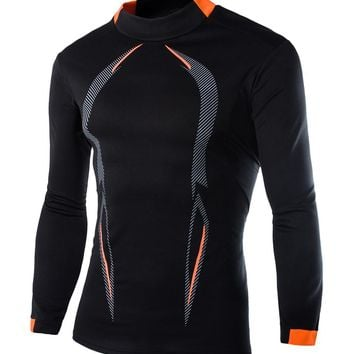Men's MMA Long SleeveCompression Bodybuilding shirt