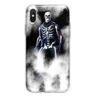 FORTNITE SMOKE SKULL TROOPER CUSTOM IPHONE CASE