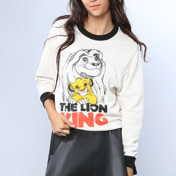 The Lion King Graphic Top