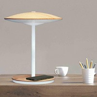 Ultrabrite Led Desk Lamp With Mood And Night Light Qi Wireless Charging Pad