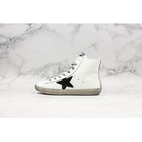 Golden Goose GGDB Francy Zip Sneakers With Black Leather Star