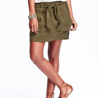 Old Navy Tie Belt Soft Skirts
