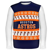 Houston Astros - One Too Many Ugly Christmas Sweater