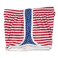 Pi Beta Phi Shorts in Red, White and Blue by Krass & Co.