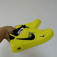 """Nike Air""Double Hook Sport Casual Unisex Multicolor Low Help Shoes Sneakers Couple Plate Shoes"