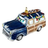 Joy to the World Collectibles 'Woody Car'Ornament - Blue