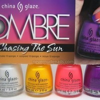china glaze OMBRE Chasing The Sun