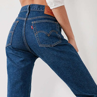 Levi's Wedgie High-Rise Jean – Something Cheeky | Urban Outfitters
