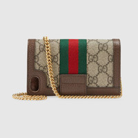 Gucci Ophidia GG chain iPhone 7/8 case