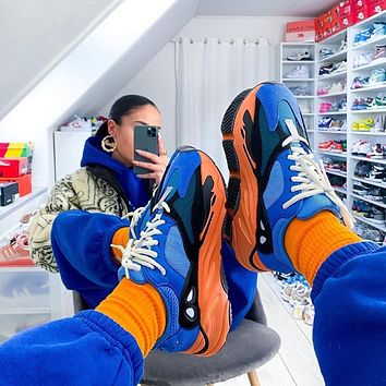 Adidas Yeezy Boost 700 Bright Blue Sneakers Shoes