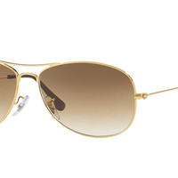 RAY-BAN GOLD COCKPIT RB 3362