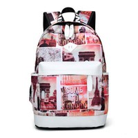 Girls bookbag WSY Brand Unique Printing Backpack Women Floral Bookbags Waterproof Canvas Backpack Schoolbag for Girls Rucksack Casual bag 151 AT_52_3