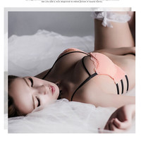 New Bra Hot Underwear Set Women Sex Push Up Deep V Lace Padded Women Lingerie Seamless Panty Bra Set Sexy Intimate