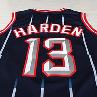 Super Rare James Harden 13 Houston Rockets New NBA Jersey Hardwood Classic Jersey Basketball Jersey All Stitched and Sewn Any Size S - XXL