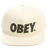 Obey The City Snapback in Natural : Karmaloop.com - Global Concrete Culture