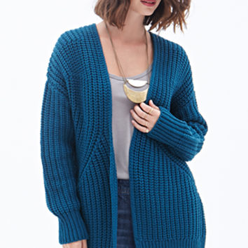 LOVE 21 Open-Front Cardigan