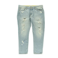 Paige Womens Jimmy Jimmy Denim Distressed Cropped Jeans
