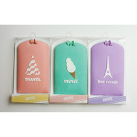 After The Rain Travel story luggage name tag belt strap ver.02