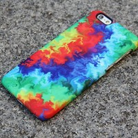 Abstract TieDye iPhone XR Case | iPhone XS Max plus Case | iPhone 5 Case | iPhone 7 Plus Case 3D 05-1