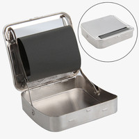 Automatic Cigarette Roller Cigarette Tobacco Roller Rolling Machine Box Case Deluxe Metal Durable New Smoking Accessories