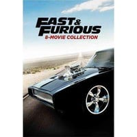 Fast & Furious DVD Collection Includes All 8 Movies!