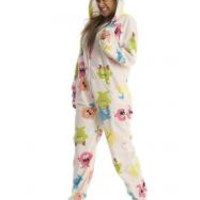 Lil Monster Jamz Adult Footed Onesuits Pajamas