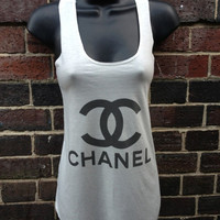 Channel  tank tops vest for ladies one size fits all