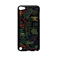 one direction song iPod Touch 5 Case