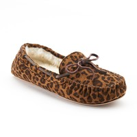 SONOMA life + style Animal Women's Moccasin Slippers