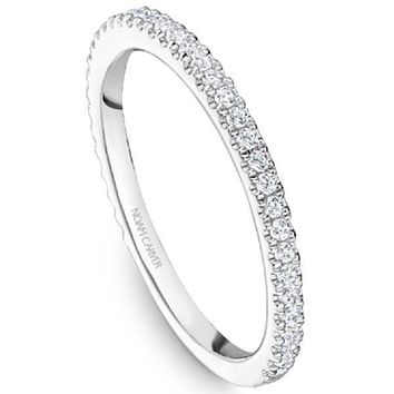 Noam Carver Shared Prong Round Cut Diamond Wedding Band