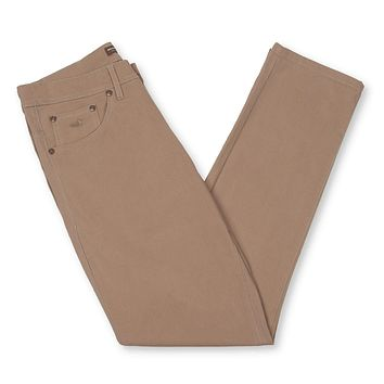 Brazos Stretch Twill Pant in Burnt Taupe by Southern Marsh