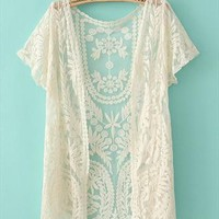 Lace cardigan shirt-2 from cassie2013