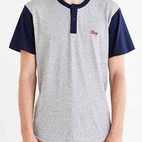 OBEY Cast Henley Tee