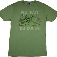 Muppets Kermit the Frog T-Shirt by Junk Food |Vintage TV Show Shirt