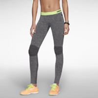 Nike Pro Hyperwarm Compression Seamless Women's Tights - Black Heather