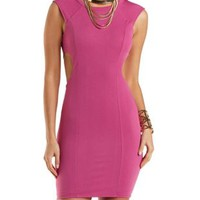 Bodycon Tank Dress with Cut-Outs by Charlotte Russe