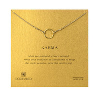 Karma Necklace, Gold Dipped | Dogeared